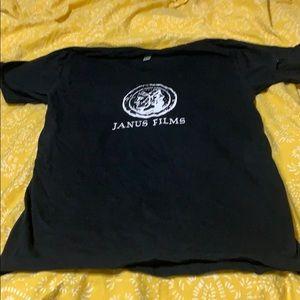 Janus Films t-shirt from American Apparel